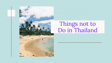 Photo of Things not to Do in Thailand