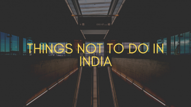 Photo of Things not to do in India