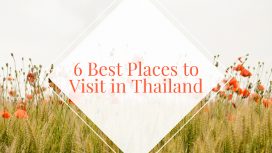 Photo of 6 Places to visit in Thailand