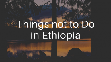Photo of Things not to do in Ethiopia