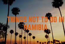 Photo of 7 Wonderful Places to visit in Namibia