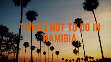 Photo of What not to do in Namibia